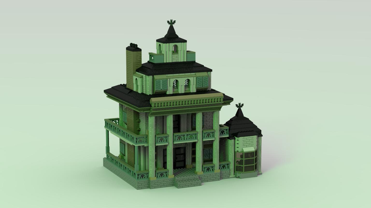 Lego Ideas Product Ideas Haunted Manor