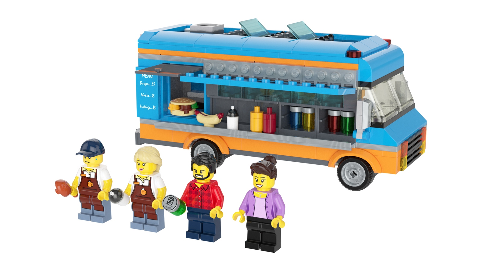 Lego Ideas Product Ideas Food Truck With Interior