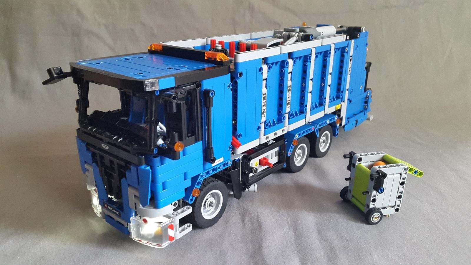 Lego Ideas Product Ideas European Garbage Truck