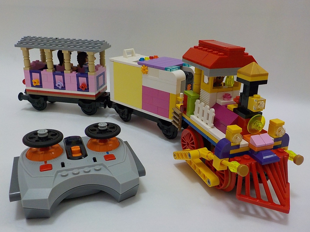LEGO IDEAS - Product Ideas - Lego Friends Train on Holiday