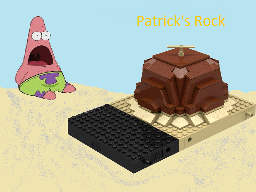Lego Ideas Product Ideas Lego Spongebob Patricks Rock