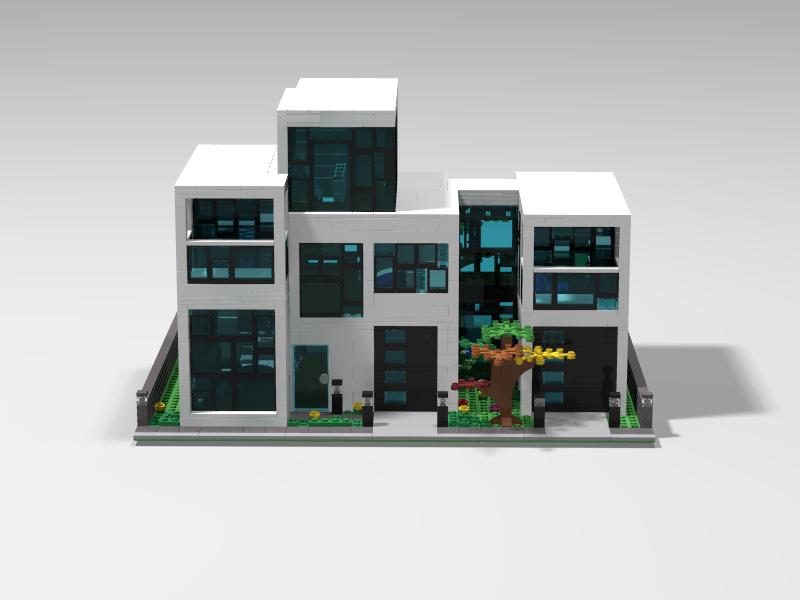 Lego Ideas Product Ideas Modern House