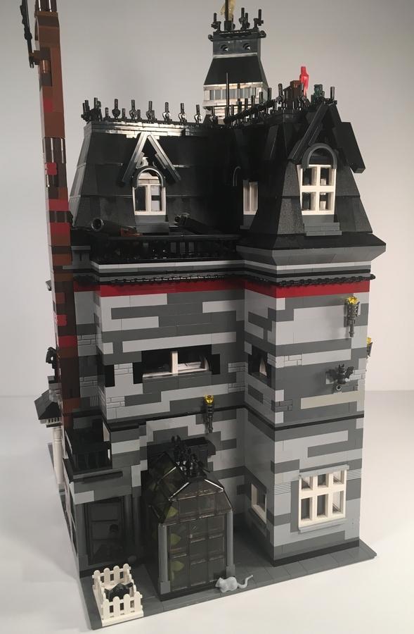 Lego Ideas Product Ideas Addams Family Mansion Modular