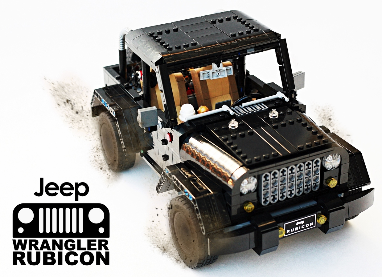 lego ideas - product ideas - jeep wrangler rubicon