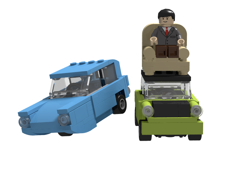 Lego Ideas Product Ideas Mr Bean S Mini Cooper
