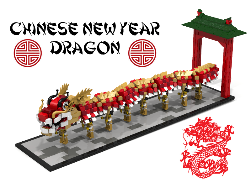 lego ideas product ideas chinese new year dragon