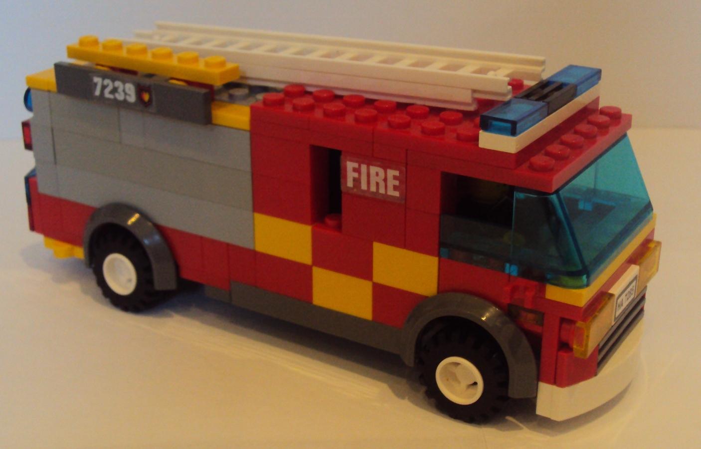 LEGO IDEAS - Product Ideas - British Scania Pump Engine