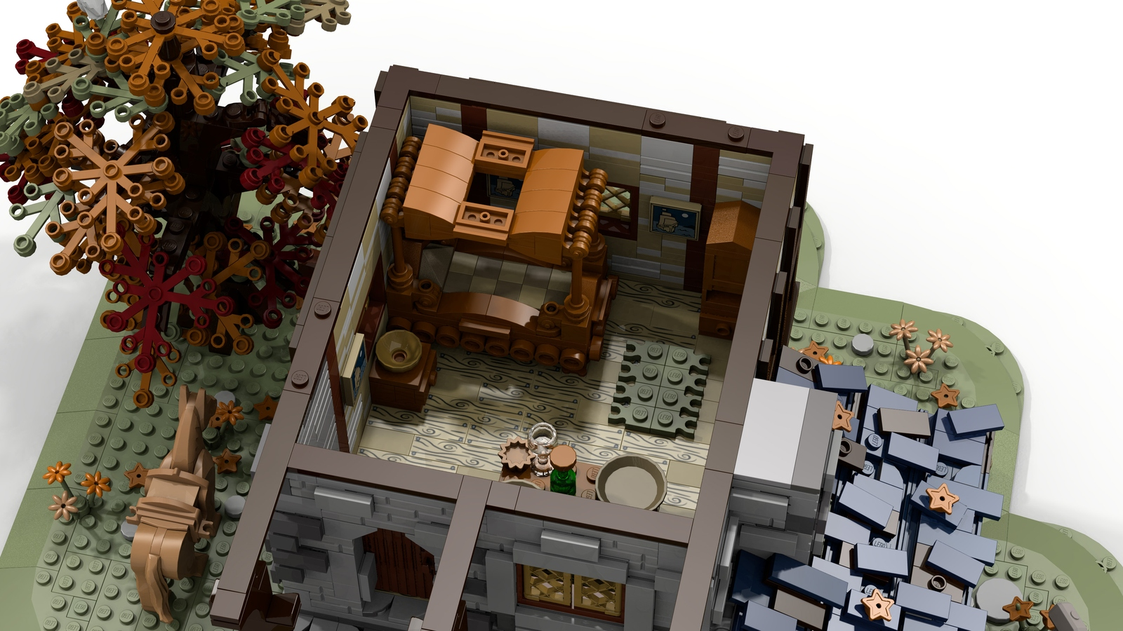 LEGO Ideas Medieval Blacksmith Achieves 10,000 Supporters