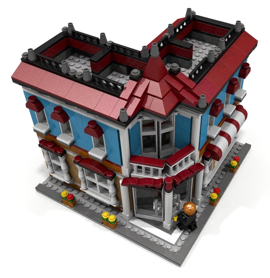 Lego Ideas Product Ideas The Corner Hotel