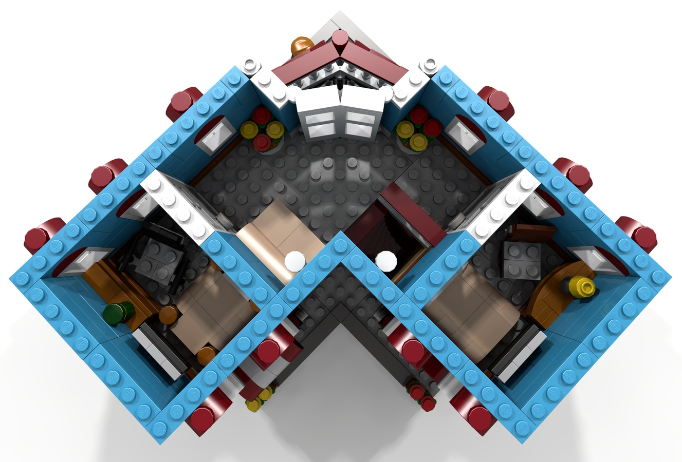 Lego Ideas Product Ideas The Corner Hotel