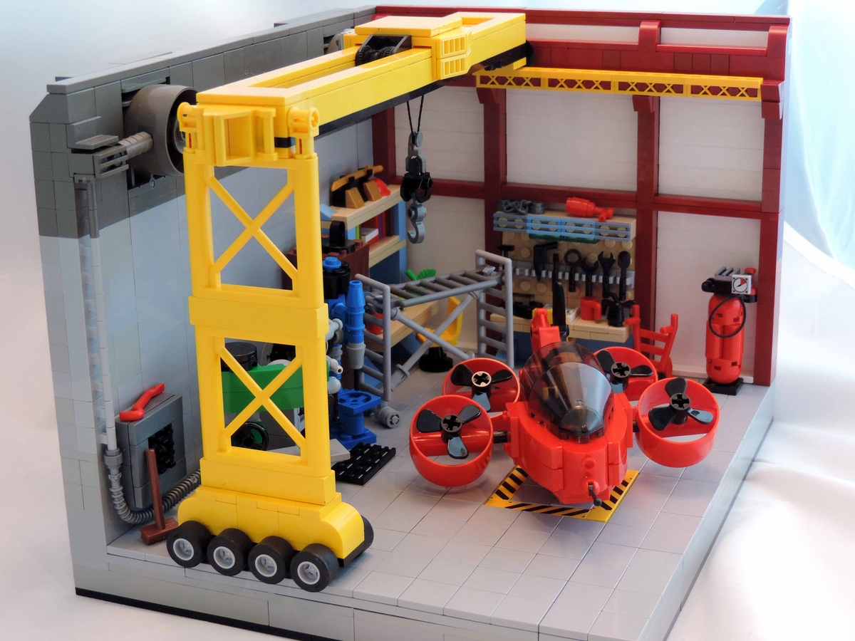 Lego Ideas Product Ideas Master Mechanics Garage
