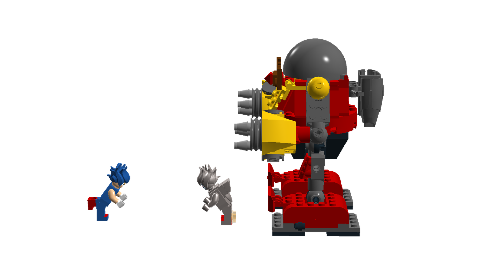 Lego Ideas Product Ideas Sonic The Hedgehog 2 Death Egg Robot