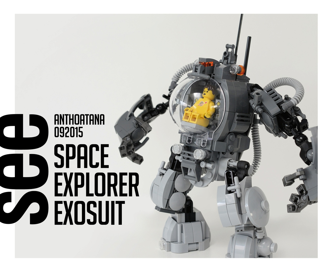 Lego Ideas Product Ideas A7 Space Explorer Exosuit Project