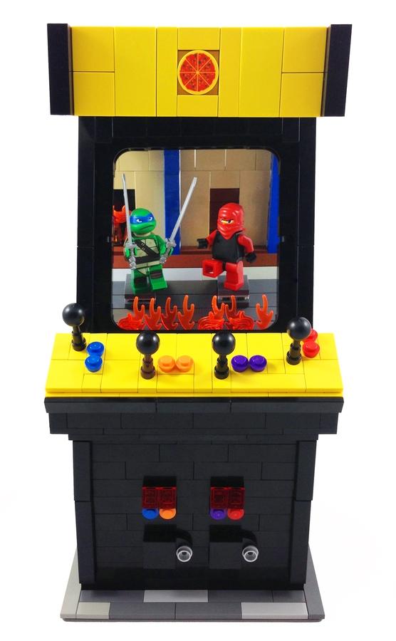 LEGO IDEAS - Product Ideas - TMNT Arcade Game (Teenage Mutant Ninja