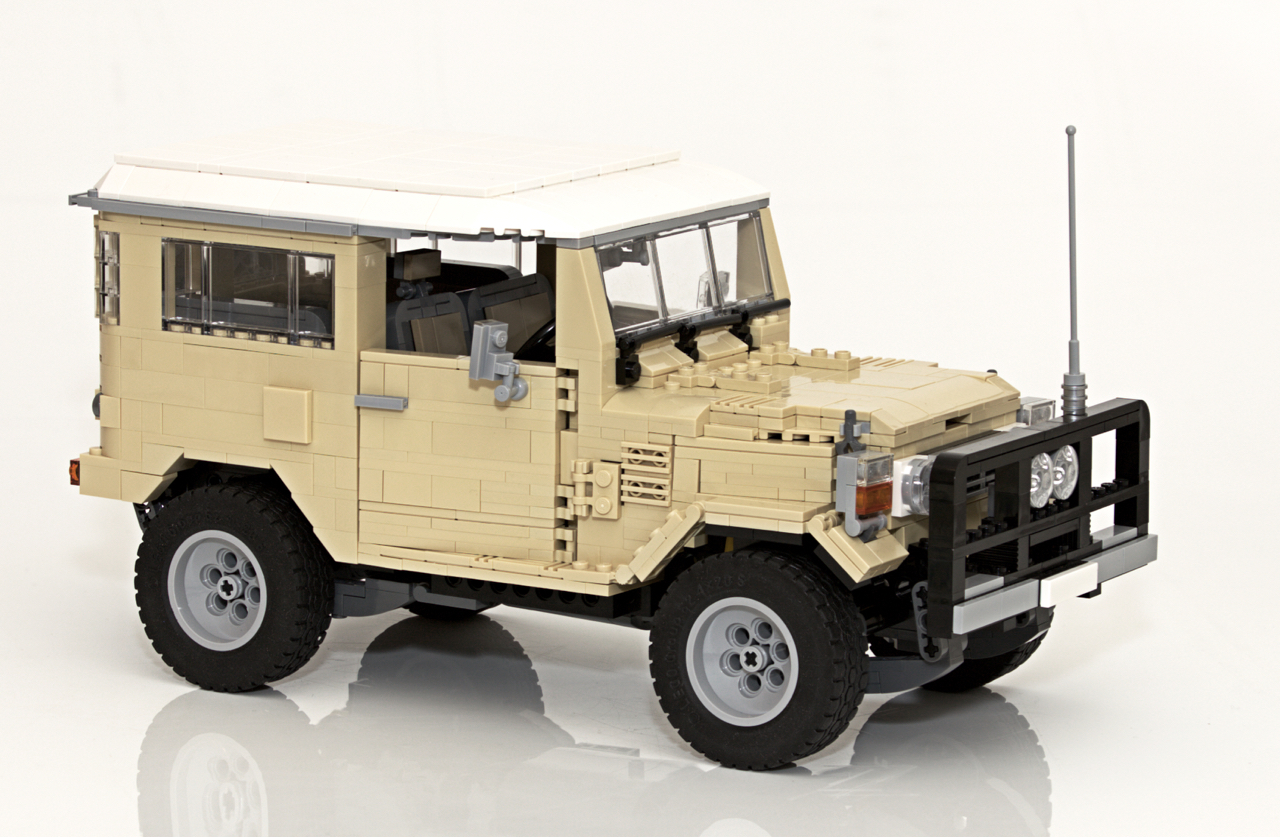 Lego Ideas Product Toyota Landcruiser 40 Series The Owners Club View Topic Blue Plug