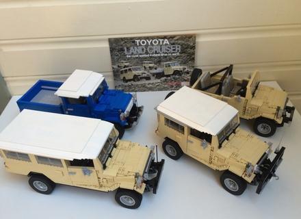 LEGO IDEAS - Product Ideas - Toyota Landcruiser 40 Series