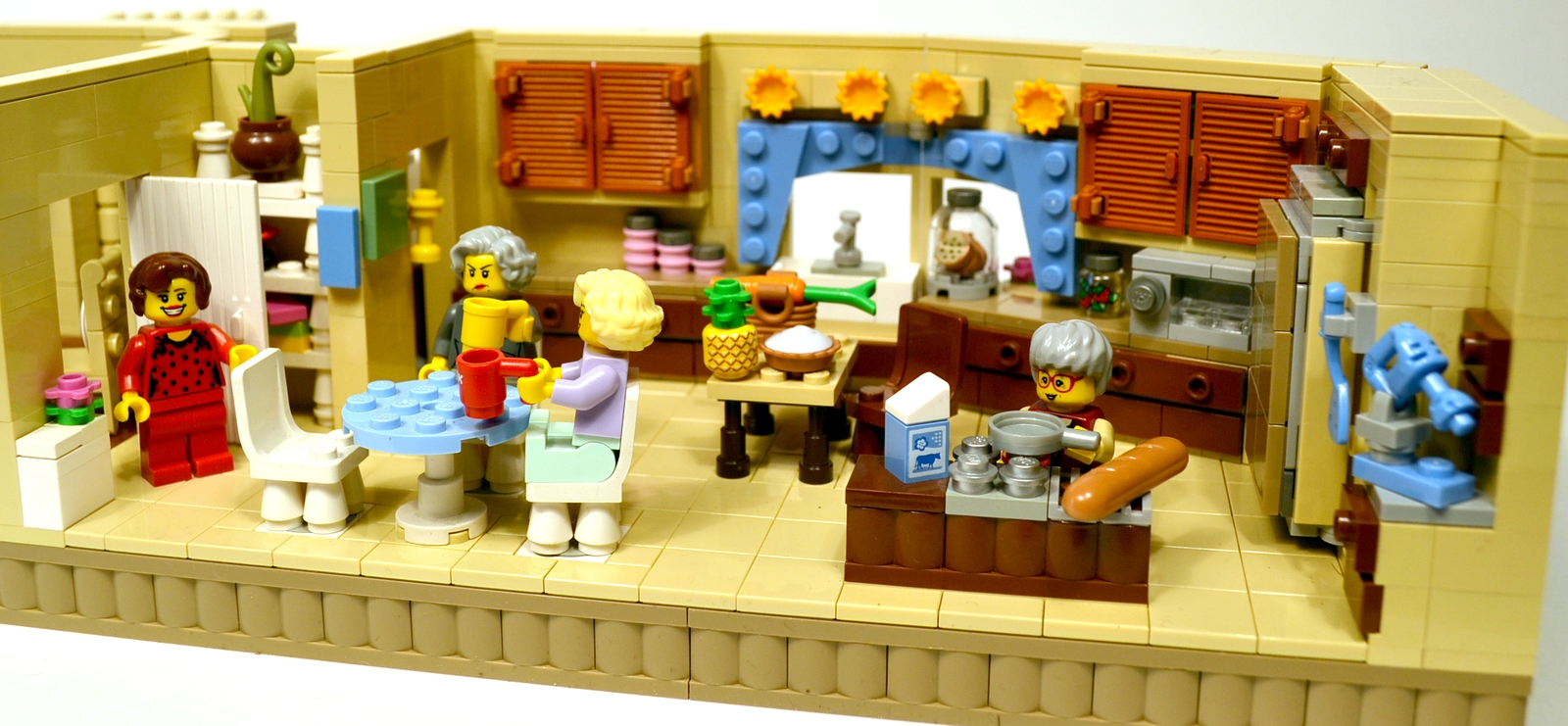 lego ideas product ideas the golden girls living room and