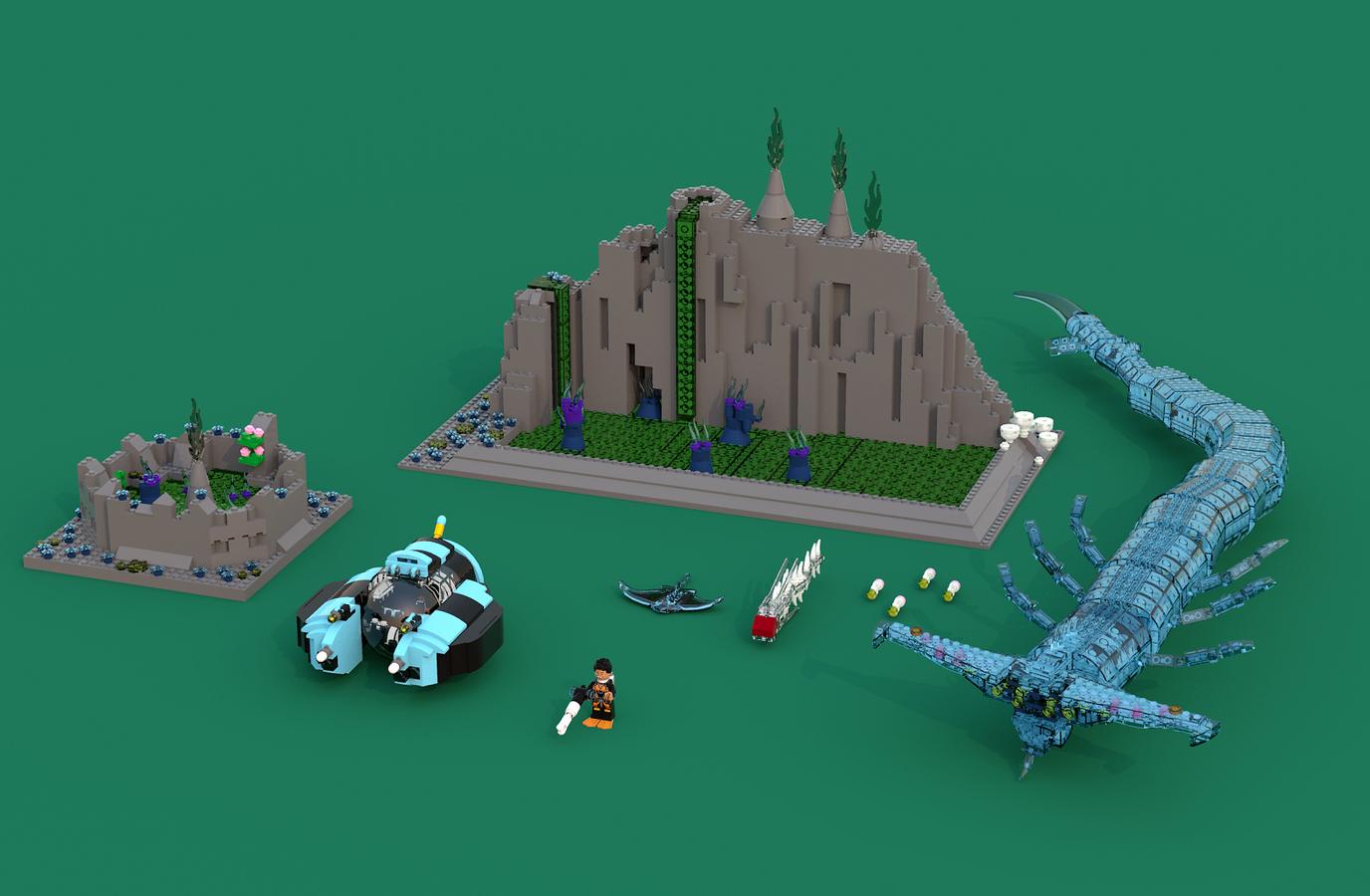 LEGO IDEAS - Product Ideas - Subnautica: Terror in the Lost