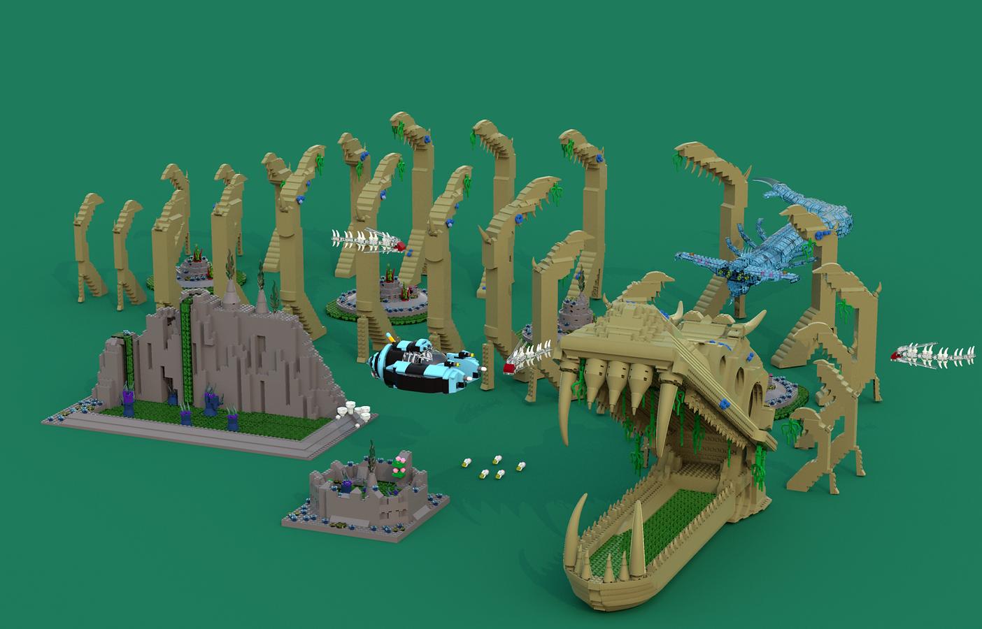 Lego Ideas Product Ideas Subnautica Terror In The