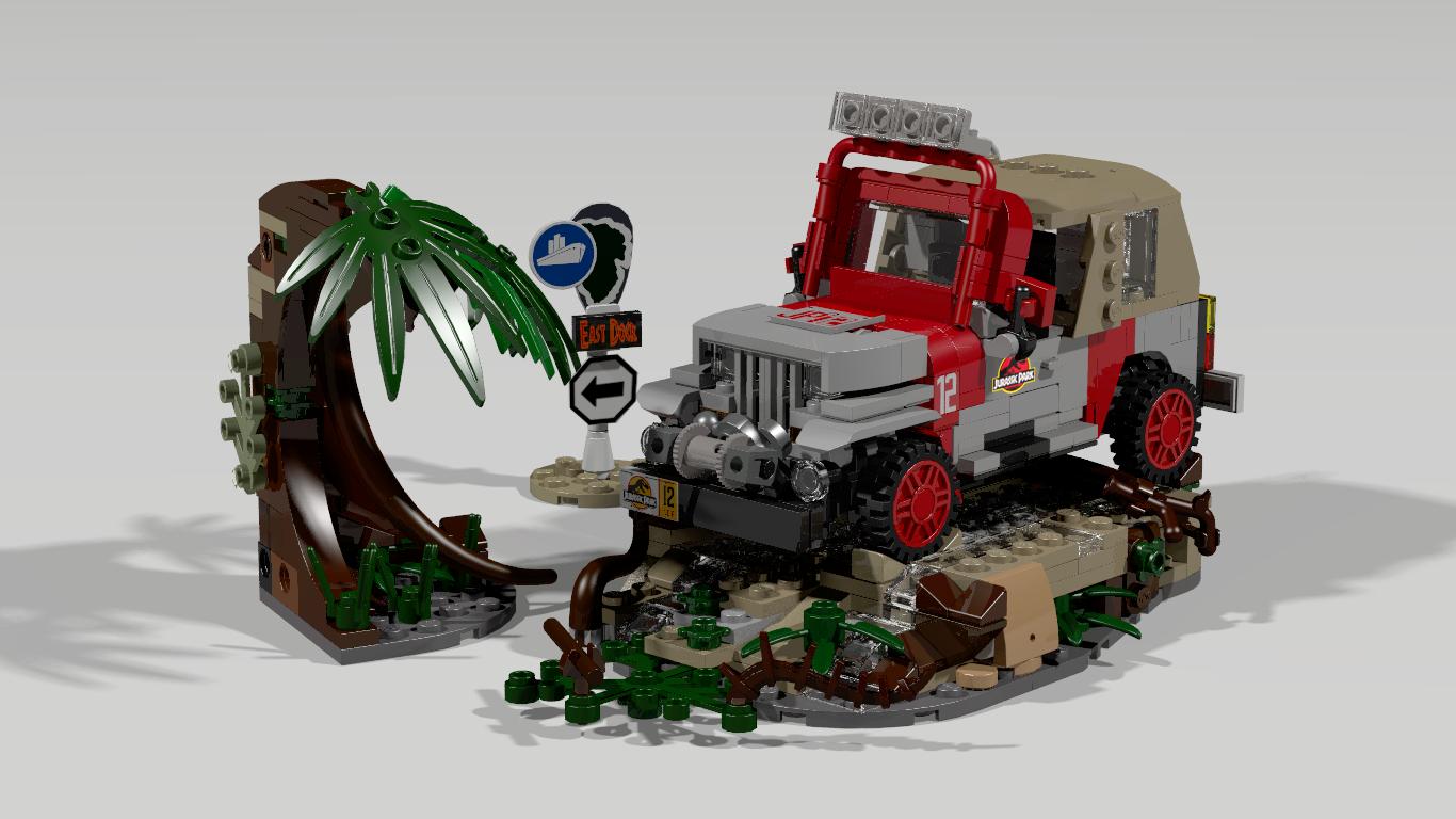 LEGO IDEAS - Product Ideas - Jurassic Park Jeep Wrangler