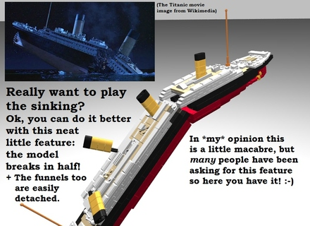 Lego Ideas Product Ideas Rms Titanic