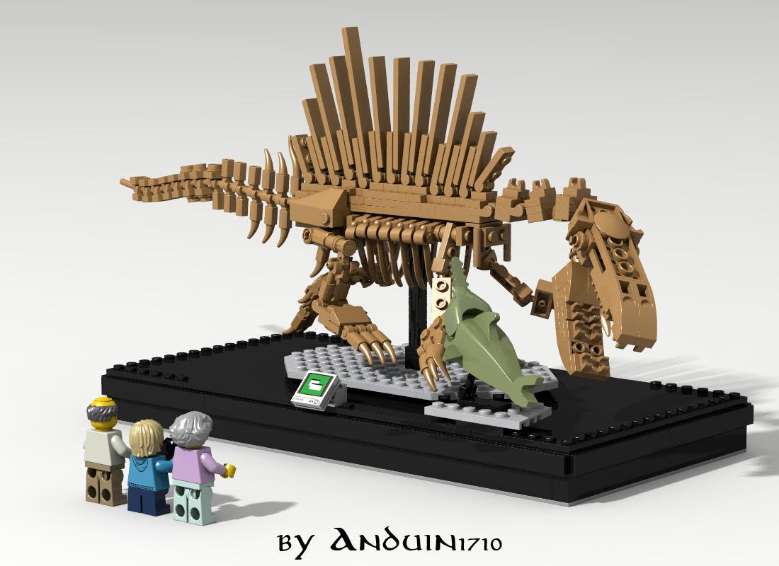 Lego ideas product ideas spinosaurus skeleton - Lego dinosaurs spinosaurus ...