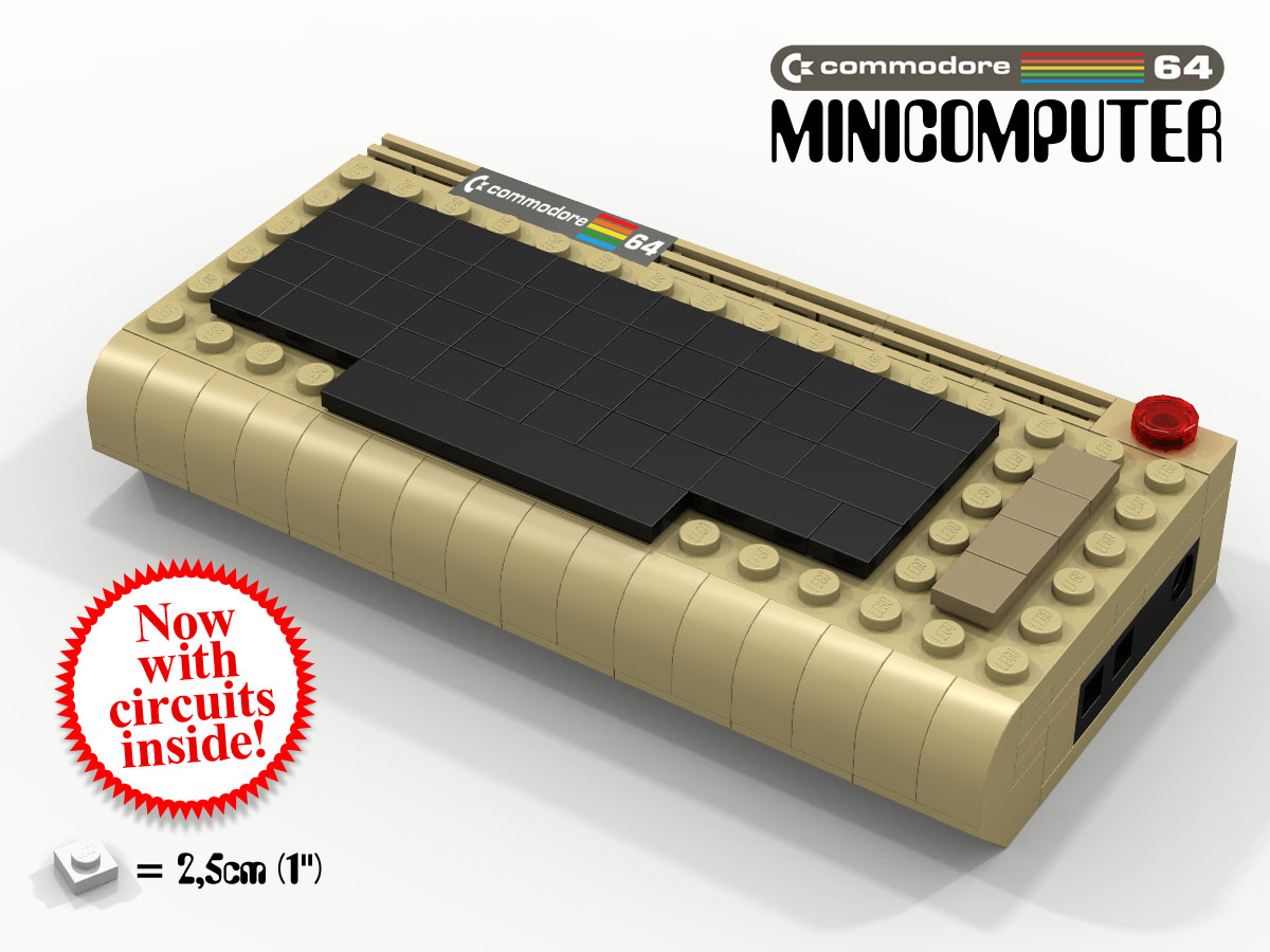 LEGO IDEAS - Product Ideas - Commodore 64 minicomputer