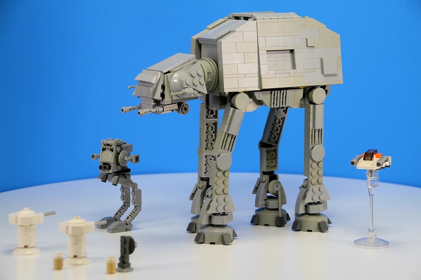 Lego Ideas Product Ideas Mini At At