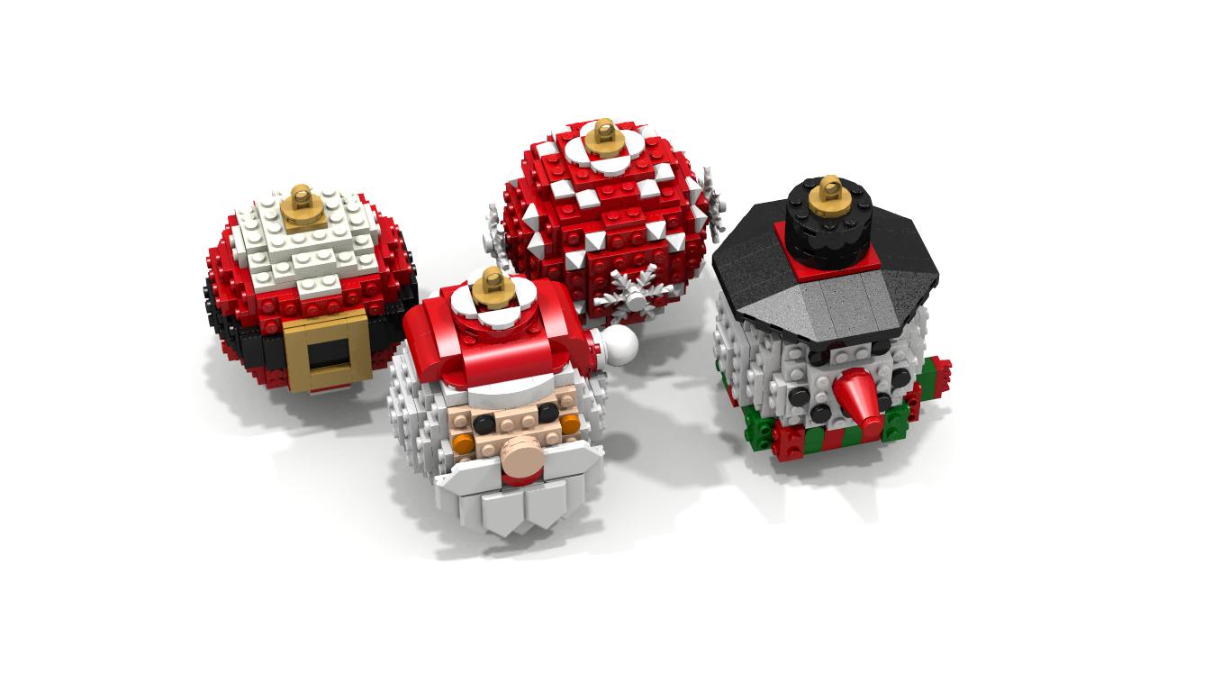 LEGO IDEAS - Product Ideas - Christmas Balls Ornaments