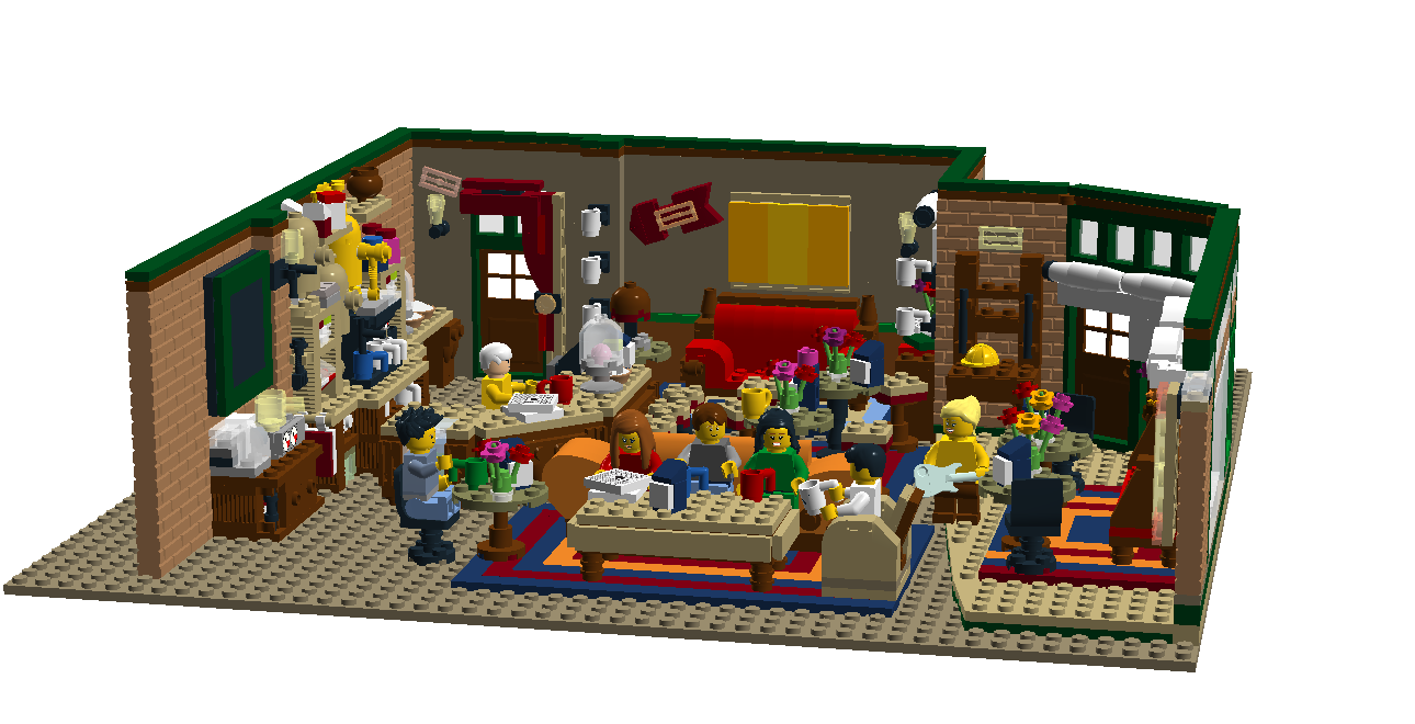 Lego Ideas Product Ideas The Central Perk Coffee Of Friends