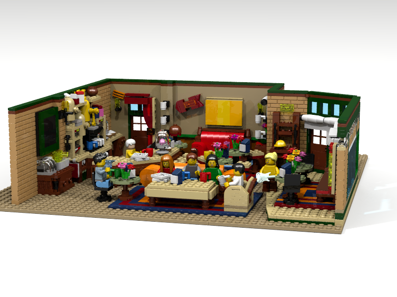 LEGO IDEAS - Product Ideas - The Central Perk Coffee of Friends