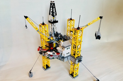 LEGO IDEAS - Product Ideas - Offshore Oil & Gas Drilling Rig
