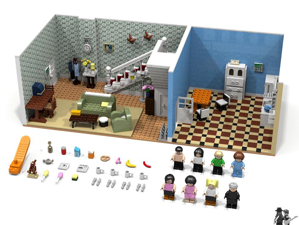 LEGOアイデア・クイーンのブレイク・フリー (自由への旅立ち):Queen: I Want to Break Free