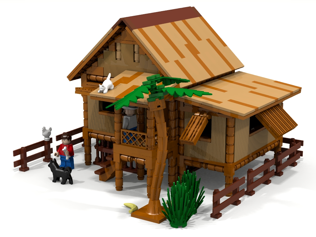 Lego Ideas Product Ideas Bahay Kubo Nipa Hut