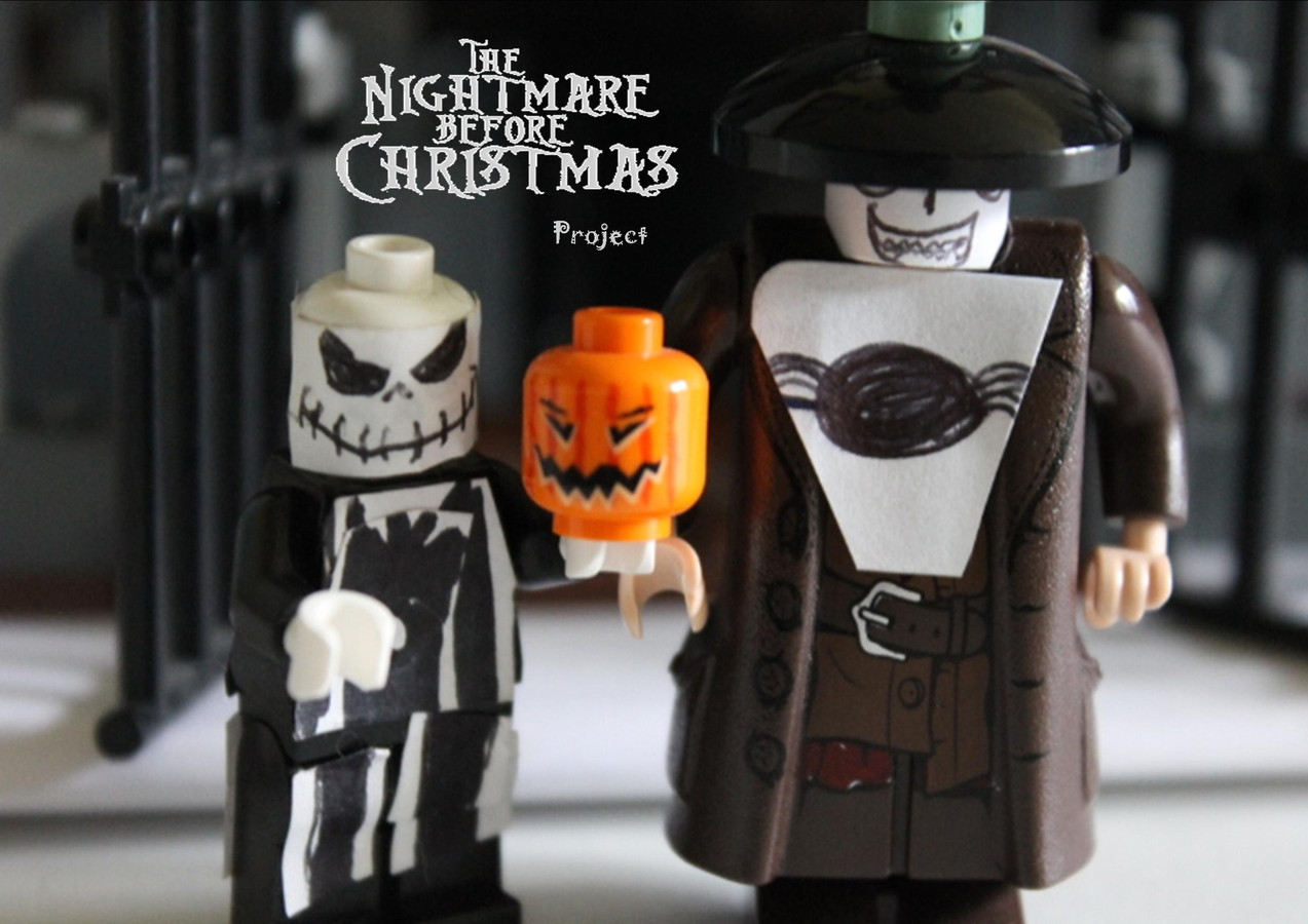 LEGO IDEAS - Product Ideas - The Nightmare Before Christmas Project