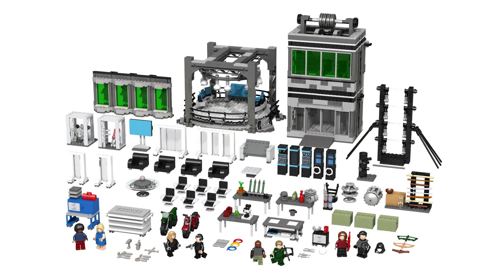 Lego Ideas Product Ideas Arrow The Cave