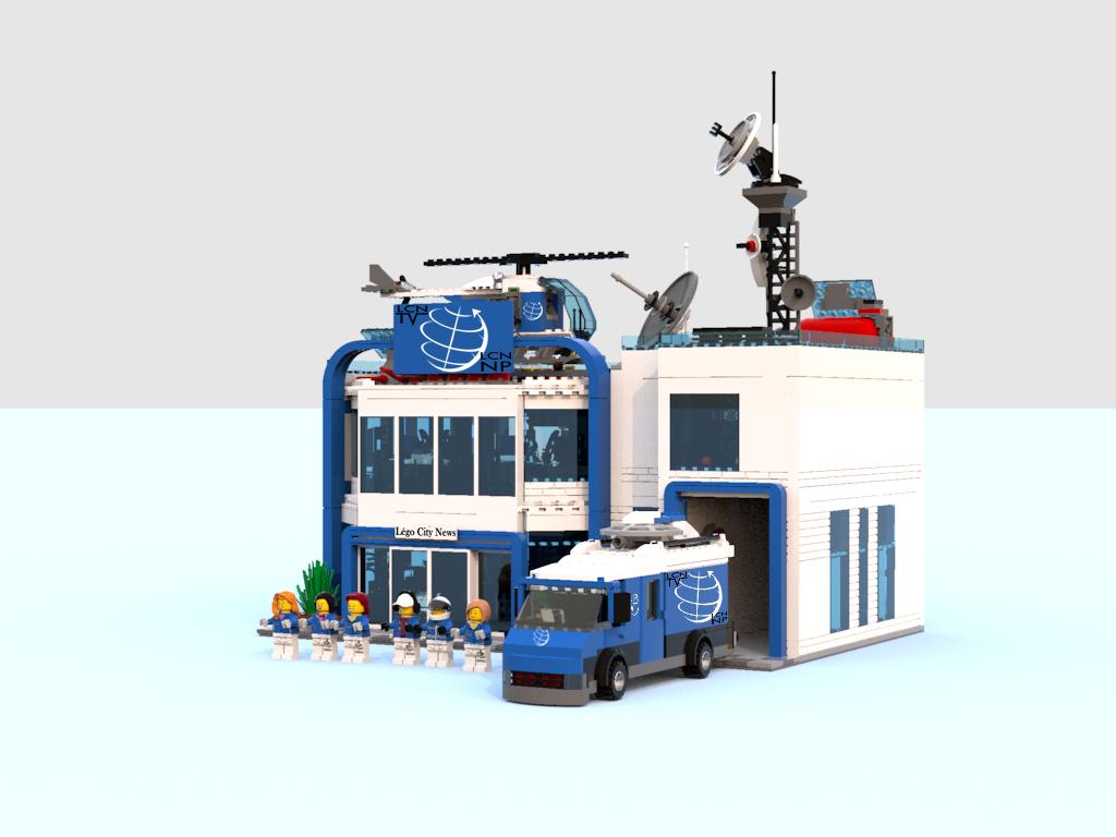 LEGO IDEAS - Product Ideas - LEGO City News, Television Station