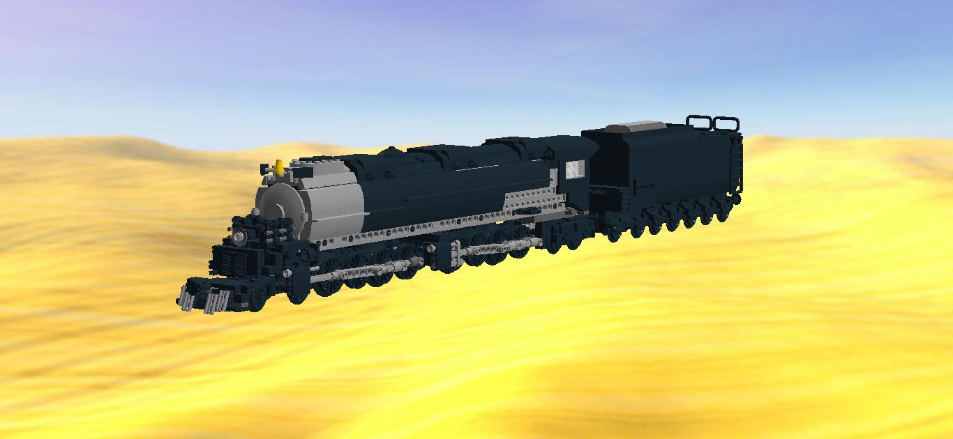 LEGO IDEAS - Product Ideas - U P  Big Boy Steam Locomotive