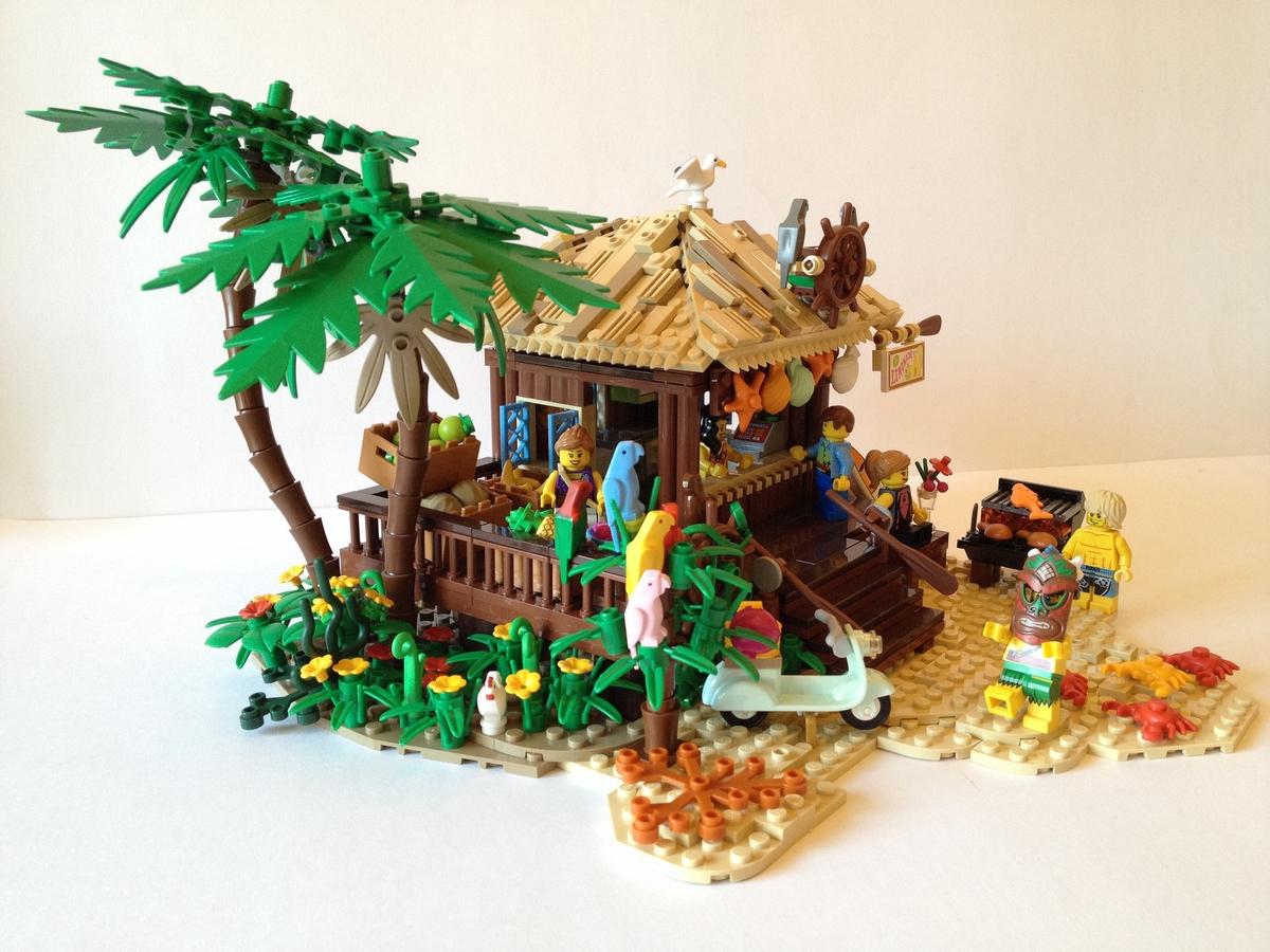 Lego Ideas Product Ideas Tropical Beach Hut