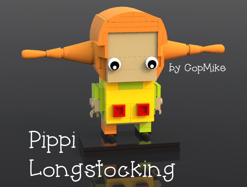 Checking Out Pippi Longstocking From >> Lego Ideas Product Ideas Brickheadz Pippi Longstocking