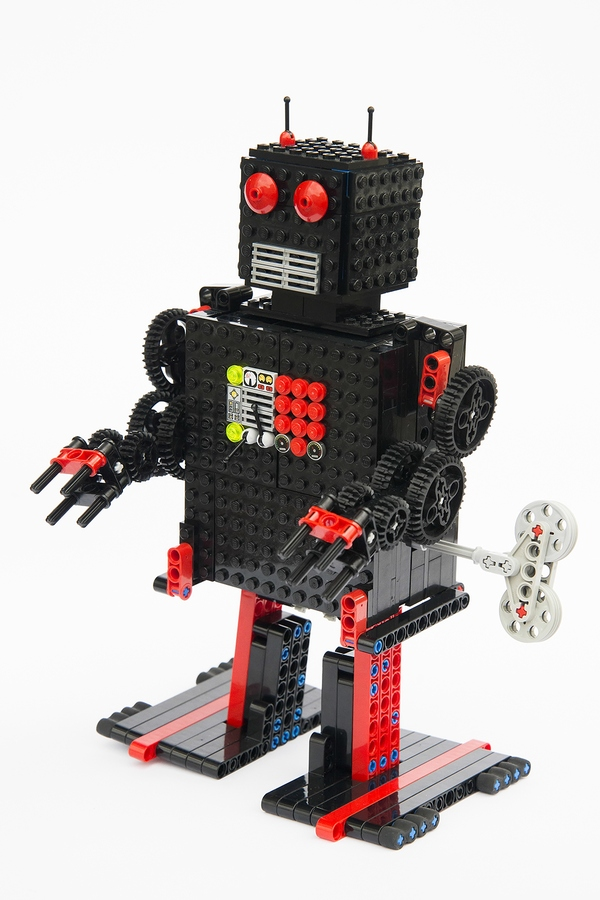 LEGO IDEAS - Product Ideas - Wind-up Robot