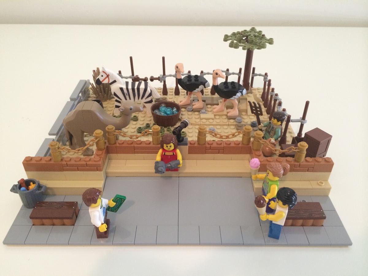 LEGO IDEAS - Product Ideas - City Zoo Modular Exhibits