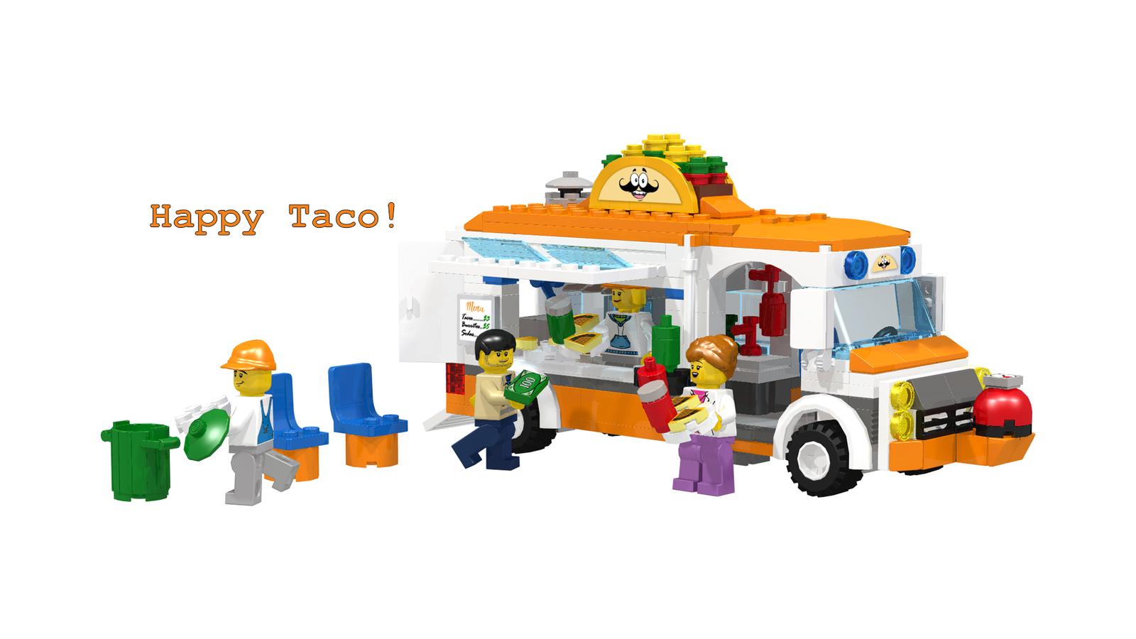 Lego Ideas Product Ideas Happy Taco Food Truck