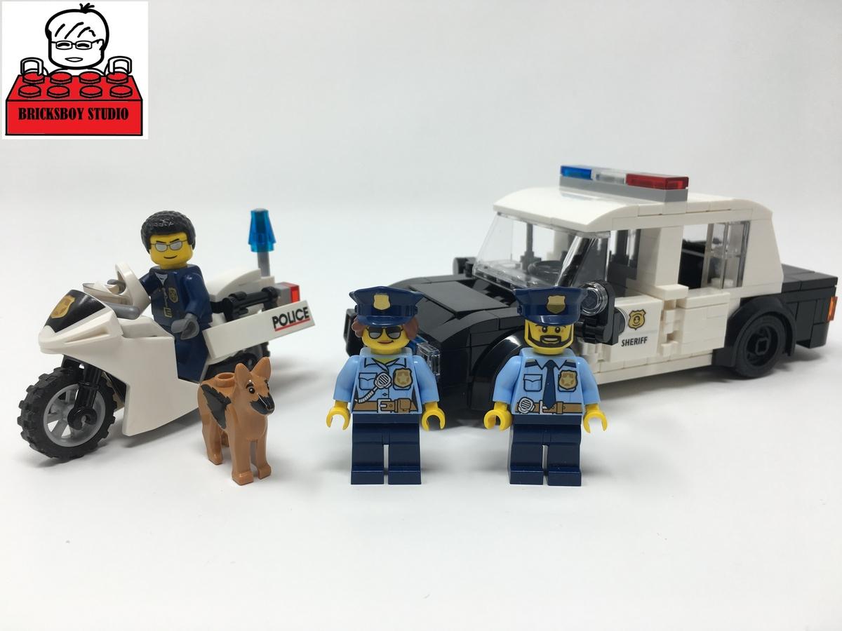 Lego Ideas Product Ideas Lego Moc Police Car And Motorcycle