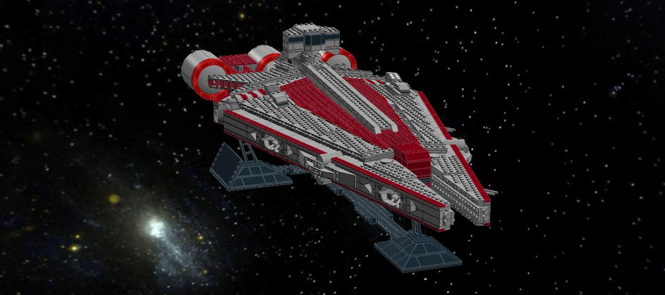 Lego Ideas Product Ideas Obi Wans Arquitens Class Light Cruiser