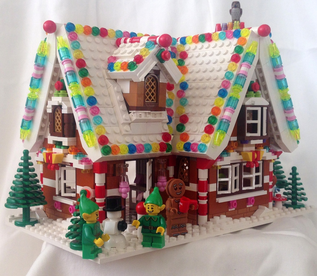 House Ideas: Holiday Gingerbread House