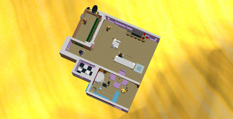 LEGO IDEAS - Product Ideas - Monica's Apartment (Friends)