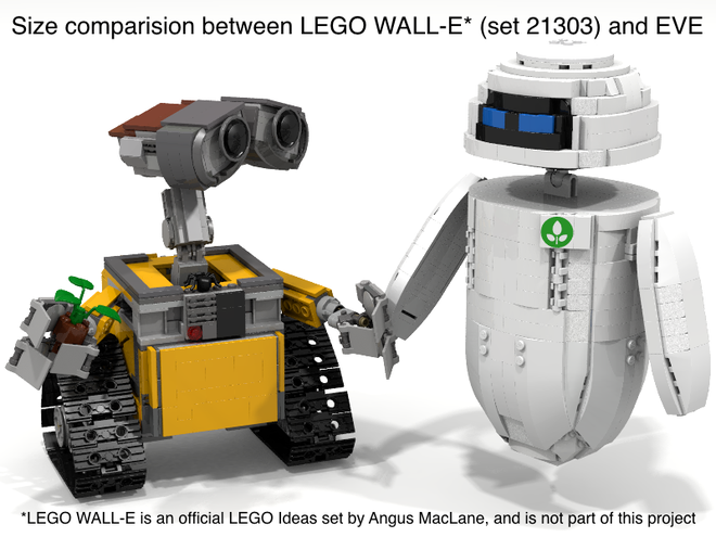Lego Ideas Eve Disney Pixar
