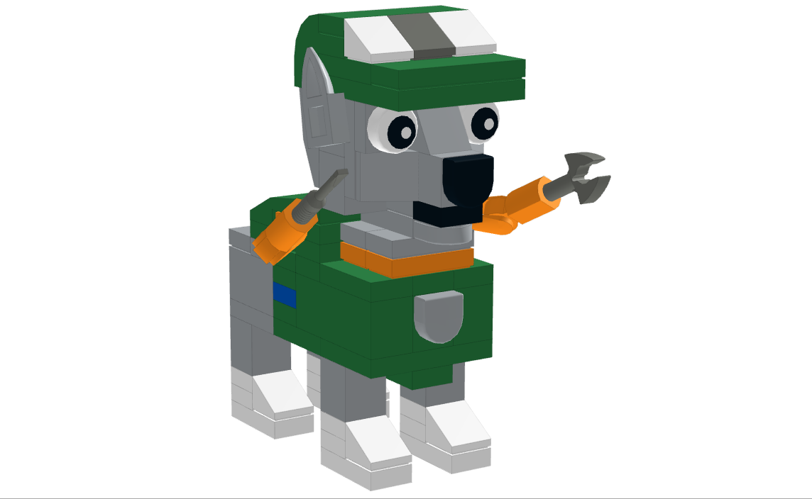 lego ideas product ideas paw patrol rocky