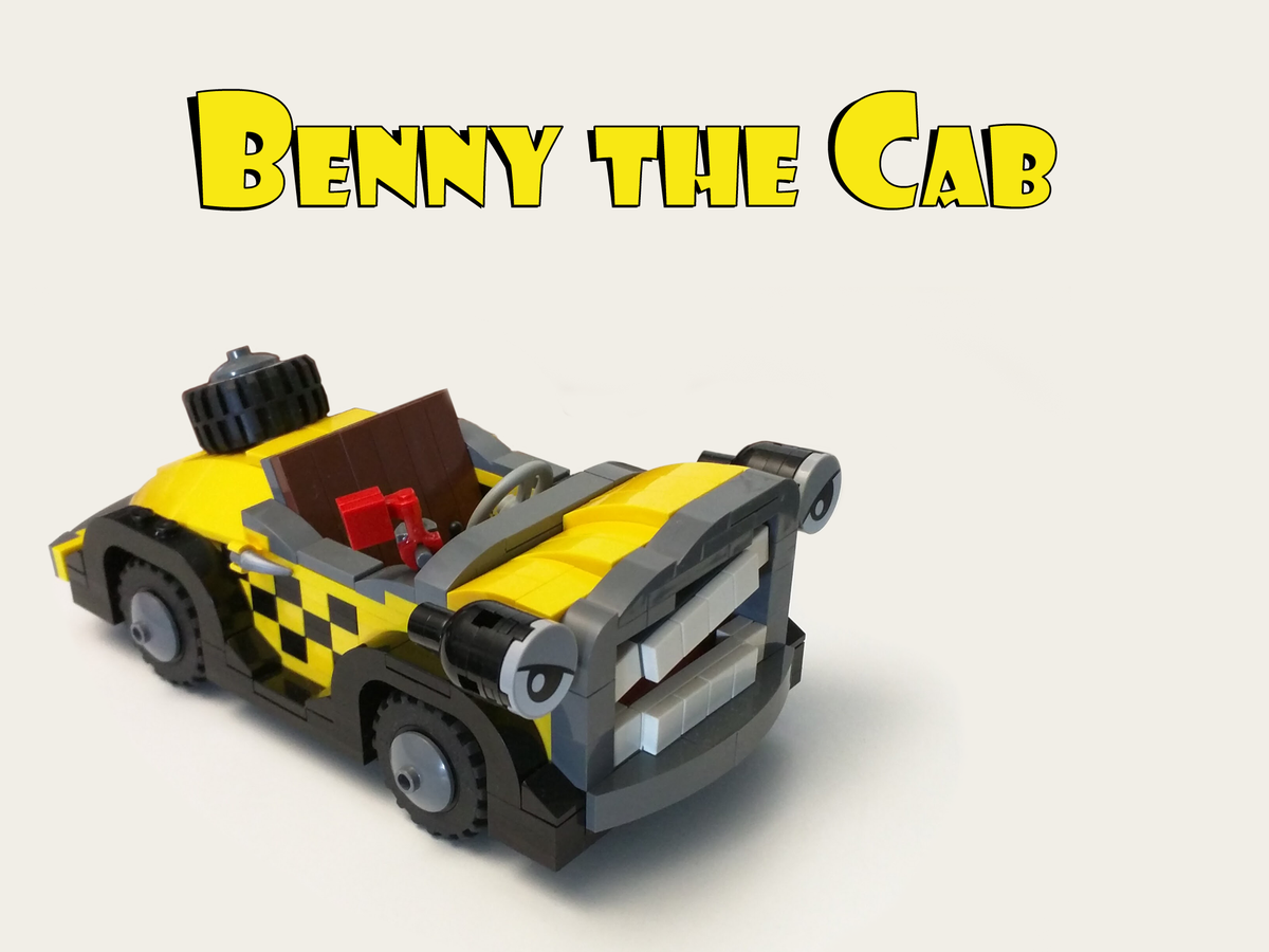 LEGO IDEAS - Product Ideas - Benny the Cab from Who Framed Roger Rabbit?